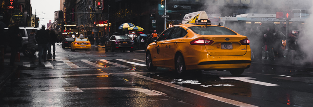 Yellow Cab - 6 Tips on How to Survive the Rainy Days